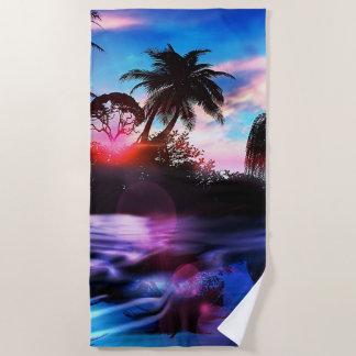 Hawaiian Paradise ビーチタオル