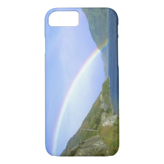 Hawea湖、新しい南島上の虹 iPhone 8/7ケース