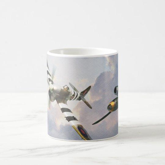 """Hawker Tempest vs. V1""mug コーヒーマグカップ"