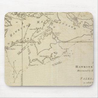 HawkinsのMaidenlandのフォークランドの音 マウスパッド