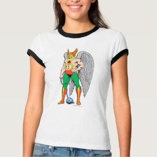 Hawkmanの地位の姿勢 Tシャツ
