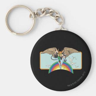 Hawkmanは空を通って飛びます キーホルダー