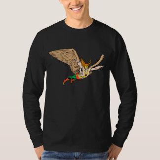 Hawkmanは飛びます Tシャツ