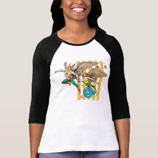 Hawkman及びHawkwoman Tシャツ