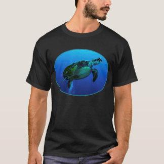 HawksbillのウミガメのTシャツ Tシャツ