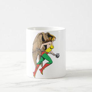 Hawkwomanのプロフィール コーヒーマグカップ