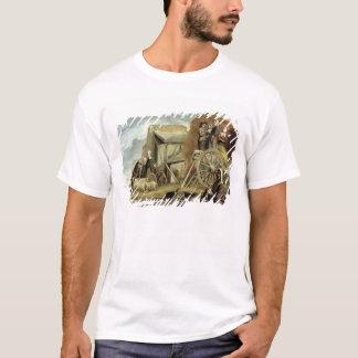 Haymaking 1641年からのHaycart、かリターン Tシャツ