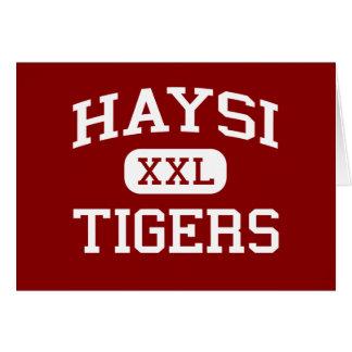Haysi -トラ-高等学校- Haysiヴァージニア カード