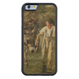 Haywain、c.1889 (キャンバスの油) CarvedメープルiPhone 6バンパーケース