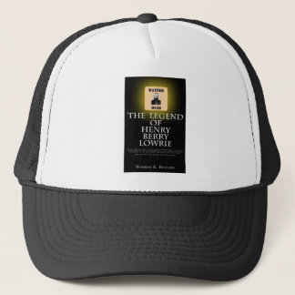 HBL -本のフロントカバーが付いている黒い野球帽 キャップ