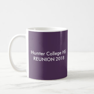 HCHSの懇親会2018の紫色 コーヒーマグカップ