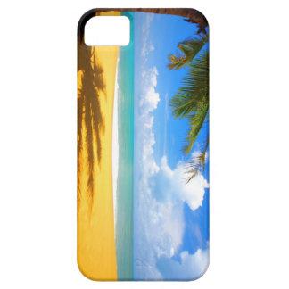 HDのiPhone 5のための熱帯ビーチの例 iPhone SE/5/5s ケース