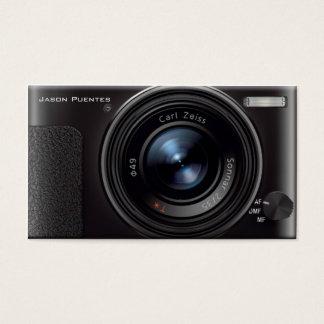 HDレンズのデジタルカメラのカメラマン 名刺