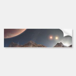 HD188753 3太陽NASA バンパーステッカー