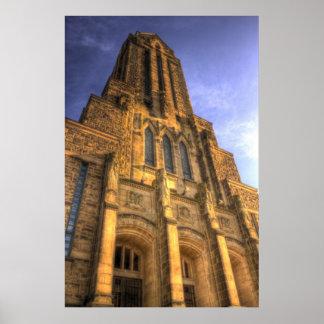 HDR -カトリック教会 ポスター