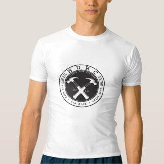 HDRCは袖の圧縮Tをショートさせます Tシャツ