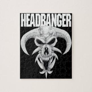 Headbangerのスカル ジグソーパズル