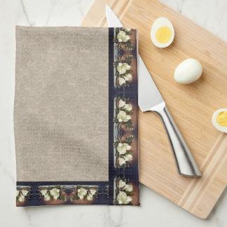 Headeのマグノリアによっては花の台所タオルが開花します キッチンタオル