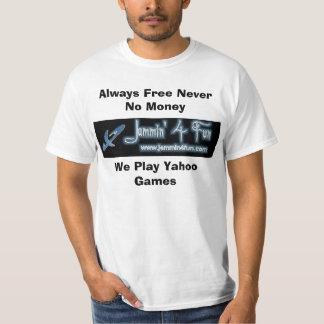 header_upperは、お金を、私達Pl…常に決して放しません Tシャツ