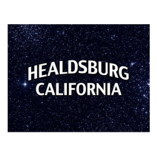 Healdsburgカリフォルニア ポストカード
