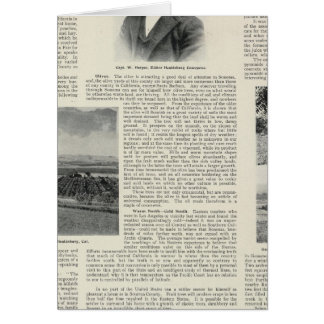 Healdsburg、カリフォルニア カード
