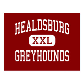 Healdsburg -グレイハウンド-高Healdsburg ポストカード