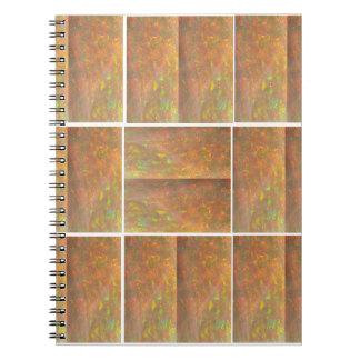 HealingSTONE水晶大理石のKOOLshadesのスペクトル ノートブック