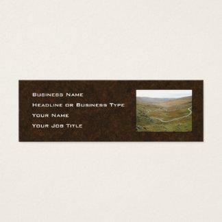 Healyのパス、Beara半島、アイルランド スキニー名刺