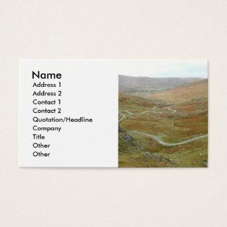 Healyのパス、Beara半島、アイルランド 名刺