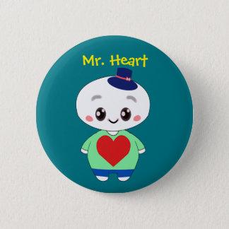 Heart氏 缶バッジ