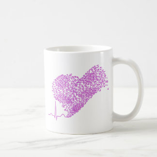 Heart_Beat コーヒーマグカップ