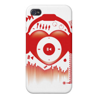 Heart_Beat iPhone 4 Cover