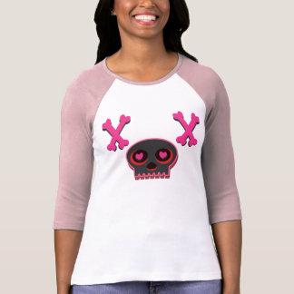 Heart Eyed Cute Skull T-shirt Tシャツ