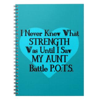 Heart/Iは決して…叔母さん… P.O.T.S.を知っていませんでした ノートブック