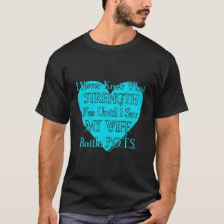 Heart/Iは決して…妻… P.O.T.S.を知っていませんでした Tシャツ