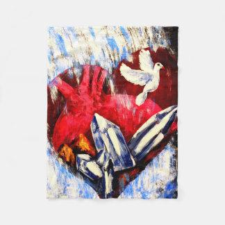 Heart of Flesh - Fleece Blanket フリースブランケット