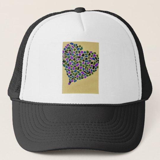 Heart of mosaic キャップ