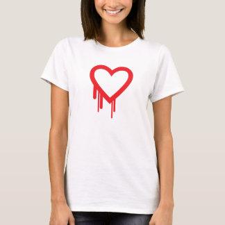 Heartbleedの虫のTシャツ Tシャツ
