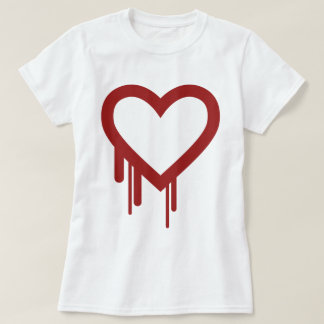 Heartbleed -高品質なロゴ tシャツ