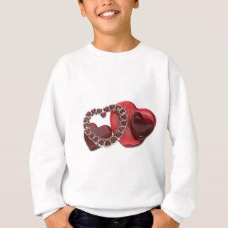 Hearts072509 スウェットシャツ