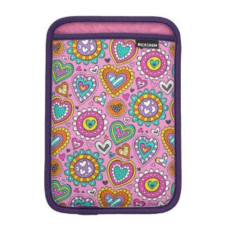 Hearts&Flowers iPad Miniスリーブ