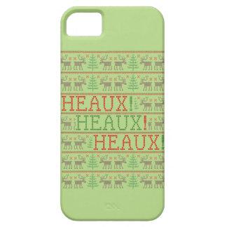 Heaux! Heaux! Heaux! 醜いクリスマスのセーターのiPhoneの場合 iPhone SE/5/5s ケース
