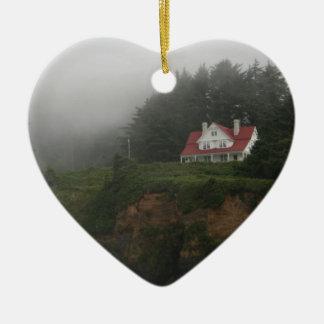 Hecetaのヘッド霧及び森林 セラミックオーナメント