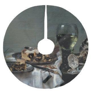 Heda著ブラックベリーパイが付いている朝の食卓 ブラッシュドポリエステルツリースカート