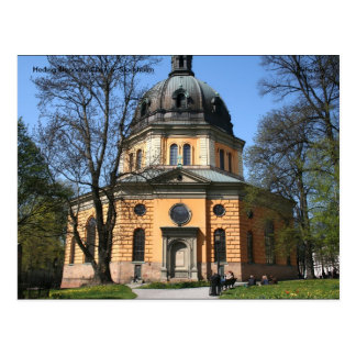 Hedvigエリオノーラ教会、ストックホルム… ポストカード