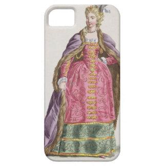 Hedwigeの伯爵夫人は(ポールの1373-99年の)女王をd'Arquien iPhone SE/5/5s ケース