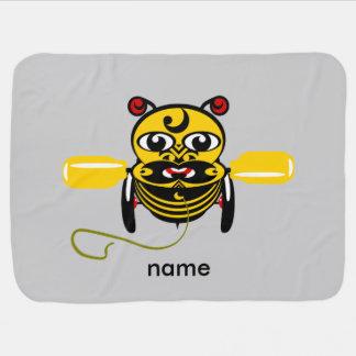Hei Tikiの蜂のおもちゃKiwiana ベビー ブランケット