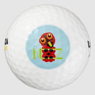 Hei Tiki N.Z. Textの芸術のデザイン ゴルフボール