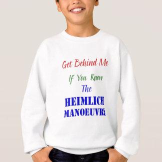 Heimlickの操縦(イギリスのスペリング) スウェットシャツ