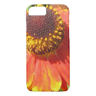 Heleniumのオレンジの花 iPhone 8/7ケース